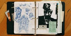 Designer Khoi Vinhs contributions to the book 'Graphic: Inside the Sketchbook of the World's Great Graphic Designers'