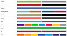 Brand Colors, para baixar paleta marcas famosas do mundo todo;