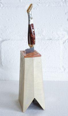 Brass Knife Stand