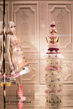 "FENDI, Paris, France, ""Save room for dessert"", pinned by Ton van der Veer"