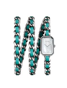 シャネルの限定カラー腕時計「プルミエール ロック ポップ」3連チェーンとポップな配色 - 写真2 | ファッションニュース - ファッションプレス