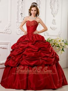 Brand New Wine Red Quinceanera Dress Spaghetti Straps Court Train ...