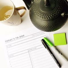 #MondayMotivation -- Write it down! Get your to-do list down on paper, identify…