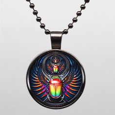 Find More Pendant Necklaces Information about Egyptian Scarab Symbols Glass Logo Women Choker Statement Necklace For Men Dress Accessories 081204,High Quality statement necklace,China necklace for men Suppliers, Cheap womens choker from DreamFire Store on Aliexpress.com