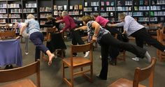 How to Go Forth and Teach Chair Yoga at your Local Libraries – Yoga Vista Academy.  This is SO true!  I love it!  #gaileee