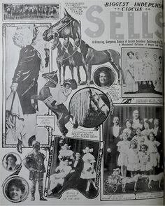 Biggest Independent Circus, Sells.