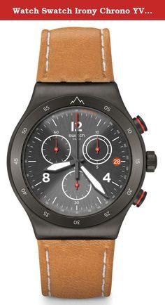 Watch Swatch Irony Chrono YVZ400 THE JOURNEY IS THE REWARD - Special Edition Jeremy Jones. Swatch YVZ400.
