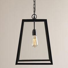 Four-Sided Glass Hanging Pendant Lantern #WorldMarketLove4Outdoors @WorldMarket