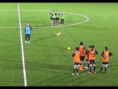 Exchange Ball and Shoot Drill Soccer Football - Top Soccer Drills