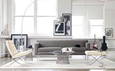 | 30 ejemplos de decoración de salones con el sillón Barcelona