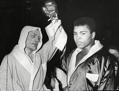 Henry Cooper vs. Muhammad Ali http://www.thegeorgewraysbury.co.uk/private-dining-hire