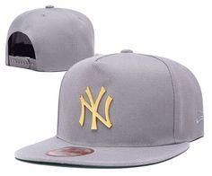0973a7fbb08 Cheap Wholesale New York Yankees Gray Snapback Hats 012 for slae at US 8.90   snapbackhats