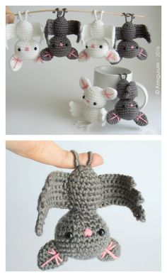 Adorable Amigurumi Bat Free Crochet Pattern