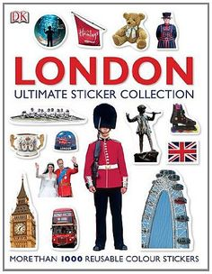 Suitable for decorating your own books, or for project work at school, this book helps you create your very own picture book as you learn about the who, what, where and when of London, from the amazing museums and parks, to where the Royal family live. **Over 1000 stickers - great for keeping the kids amused**