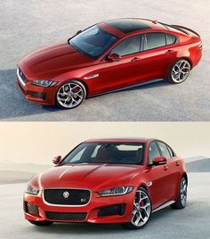 Jaguar Unleashes its All-New 2017 XE Sedan - www.diamonds4royalty.com #luxury #cars #Jaguar
