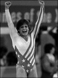 Mary Lou Retton got a perfect 10 on vault twice in a row.