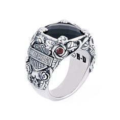 Excellent Harley Davidson images are available on our web pages. Gothic Rings, Gothic Jewelry, Jewellery Uk, Jewelry Rings, Diamond Jewelry, Fine Jewelry, Rings For Girls, Rings For Men, Harley Davidson Rings