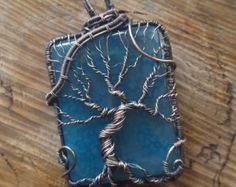 Giornata piovosa albero della vita filo di RachaelsWireGarden