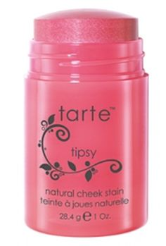 Tarte cheek stain - best natural cheek color glow; doubles as the perfect pink lip color
