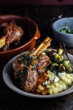... braised lamb shanks | Recipe | Braised Lamb, Braised Lamb Shanks and