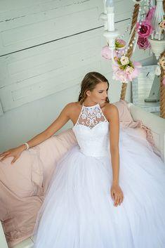 Girls Dresses, Flower Girl Dresses, Wedding Dresses, Fashion, Bridal Dresses, Moda, Bridal Gowns, Dresses Of Girls, Wedding Gowns