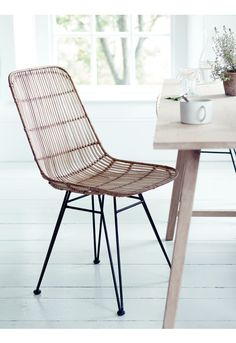 Rattan Dining Chair - Stools & Chairs - Kitchen