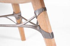 Japanesque Junction: 3dsgn:   Titanium-Tawa Table |three one legged...