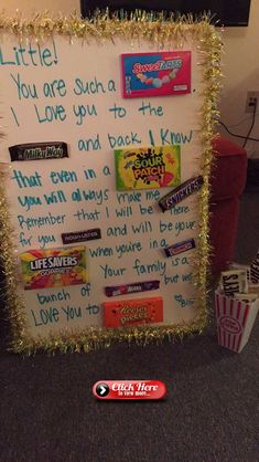 Big little clue week Big little clue week - Geschenk Big Sis Lil Sis Gifts, Cheer Sister Gifts, Big Sister Little Sister, Cheer Gifts, Little Sisters, Cheerleading Gifts, Cheer Stunts, Soccer Gifts, Volleyball Gifts
