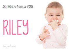 baby name: Riley