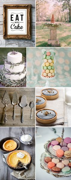 En Provence. Cake ideas via rock my wedding blog