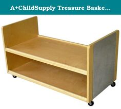 A+ChildSupply Treasure Basket Storage System. About A+ Child Supply, Inc. For over 10 years, A+ ChildSupply has been supplying high quality products for use in schools, daycares and homes. Their design team has developed an extensive series of preschool furniture with safety, durability and beauty as top priorities. Every product built in their factory undergoes an extensive battery of tests and is compliant with all laws and regulations as set forth by the CPSC (Consumer Products Safety...