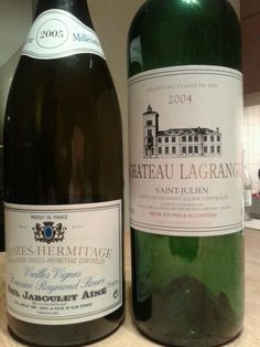 Never underestimate the French wines...