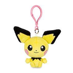 Pichu Pokémon Petit Plush - 4 1/4