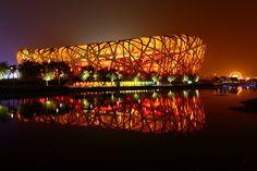 Estadio Nido de Pájaro de Beijing  Fotografía: Agente Europamundo