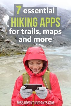 Discover the best hiking apps for your next trip! This article covers apps for GPS navigation, discovering new trails, and learning more about nature and the outdoors. The 9 Best Hiking Apps for GPS, Trails and Camping Diy, Bushcraft Camping, Camping And Hiking, Camping Gear, Camping Hammock, Winter Camping, Camping Equipment, Camping Hacks, Hiking Food