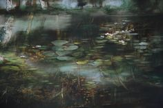 087 Painting by French Artiste Claire Basler