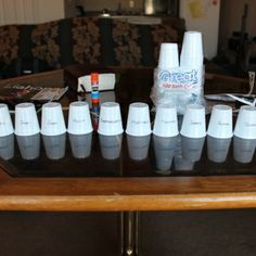 Grab a Paper Cup You Know What to Do -