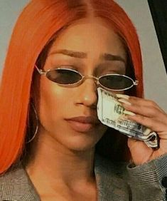 Boujee Aesthetic, Badass Aesthetic, Orange Aesthetic, Bad Girl Aesthetic, Aesthetic Collage, Aesthetic Pictures, Bedroom Wall Collage, Photo Wall Collage, Funny Reaction Pictures