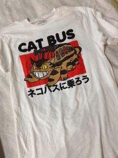 Catbus Tshirt - $20.50  http://www.hottopic.com/hottopic/Studio+Ghibli+My+Neighbor+Totoro+Catbus+T-Shirt-10230516.jsp