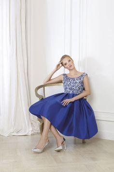 5f024b545d7f Il brand spagnolo Matilde Cano propone abiti da cerimonia 2016 che  strizzano l occhio alle principali tendenze del settore. Uno stile  femminile ed elegante ...