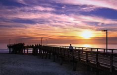 Oxnard and Port Hueneme are beautiful coastal cities in Ventura County. Port Hueneme, California Coast, Southern California, Ventura County, I Want To Travel, Filming Locations, Beautiful Sunset, Places To See, Sunsets