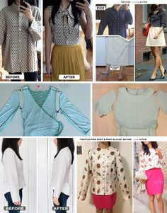 ed44920bcb4 Clothing alterations Altering Clothes, Fashion Project, Diy Clothes, Sewing  Clothes, Thrift Clothes