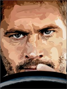 Made by COOLMAKE.cz #paulwalker #fastandfurious #brian