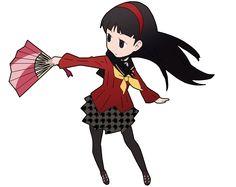 Persona Q - Yukiko Amagi by PJSone