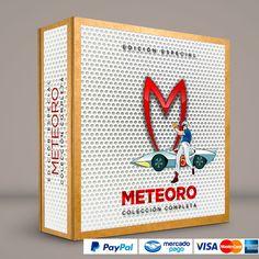 METEORO #ColeccionCompleta DVD · BluRay · Calidad garantizada. #BoxSetDeLujo Presentación exclusiva de RetroReto. Pedidos: 0414.402.7582