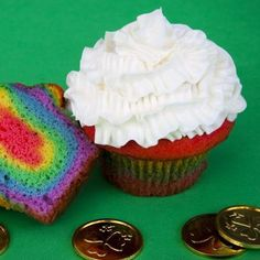 Rainbow Cupcakes – Printable Recipe