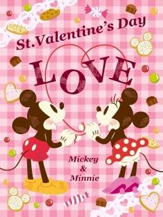 Ideas Wall Paper Disney Baby Mice For 2019 Valentines Movies, Disney Valentines, Valentine Day Love, Valentine Day Cards, Mickey Love, Mickey Mouse And Friends, Mickey Minnie Mouse, Disney Mickey, Disney Cards