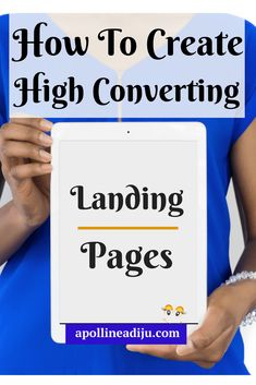 "How To Create ""High Converting Landing Pages"" • Simple Social By Apolline Adiju"