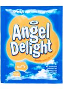 Angel Delight Butterscotch Whip up with fresh milk. No artificial colours, or flavours, no preservatives. Instant dessert for little angels! Sugar Angel, Gourmet Recipes, Dessert Recipes, Baking Desserts, Baking Recipes, Angel Delight, British Desserts, Fresh Milk, Mixed Drinks