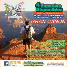Del 7 al 16 de Octubre 10 Personas máximo Transporte privado desde Costa Rica! #AveToursCR - http://www.avetourscr.com/